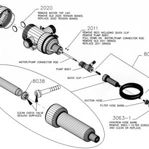 Gator XL O Ring Service Kit
