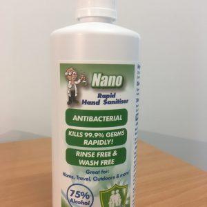 Hand Sanitiser 75% Alcohol 500mL